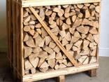Дрова колотые (дуб, граб, береза, ольха) тех. сушка в ящиках - фото 1