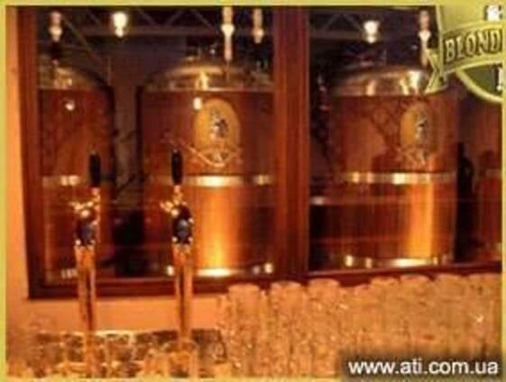 Мини пивоварня - мини пивзавод для ресторана 300 литров