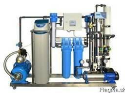 Модульные системы водоподготовки на нержавеющих рамах