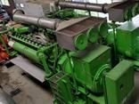 Б/У газовый двигатель Jenbacher 616 GS 02, 1942 Квт, 1999 г. - фото 1