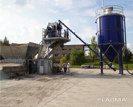 Бетонный завод SUMAB TE-15 (15 м3/ч) Швеция