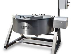 Braising pan with mixer MS