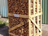 Дрова дубовые колотые сухие - photo 2