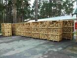 Дрова колотые твердых пород дерева - граб, дуб, ясень - фото 1