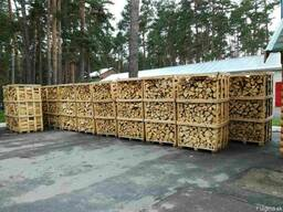 Дрова колотые твердых пород дерева - граб, дуб, ясень