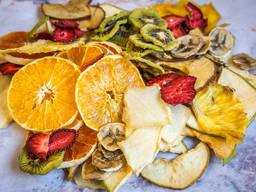 Линия производства овощных и фруктовых чипсов