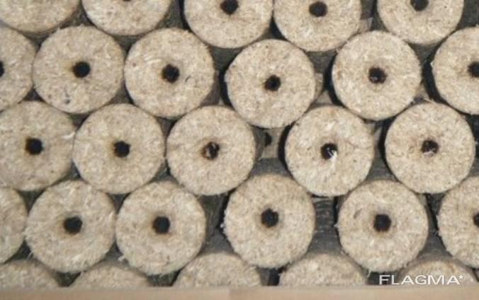 Nielsen briquette (90mm, pinewood)