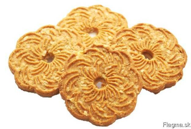 Oatmeal biscuits in range