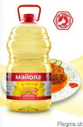 Refined deodorized winterized sunflower oil Majola