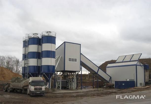 Стационарный Бетонный завод SUMAB TE-60 (60 м3/ч) Швеция