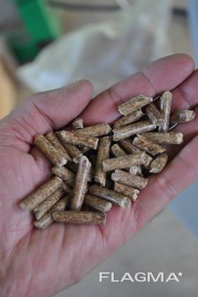 Wooden pellets A1